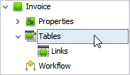 Add Tables to Database Entities