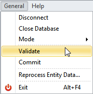 Ensure Database Validity