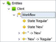 database creator: Set Business Workflow in CentriQS