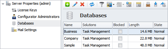 What are Types of Database Software